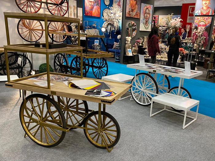 Messeimpressionen 3 Rad Marktwagen