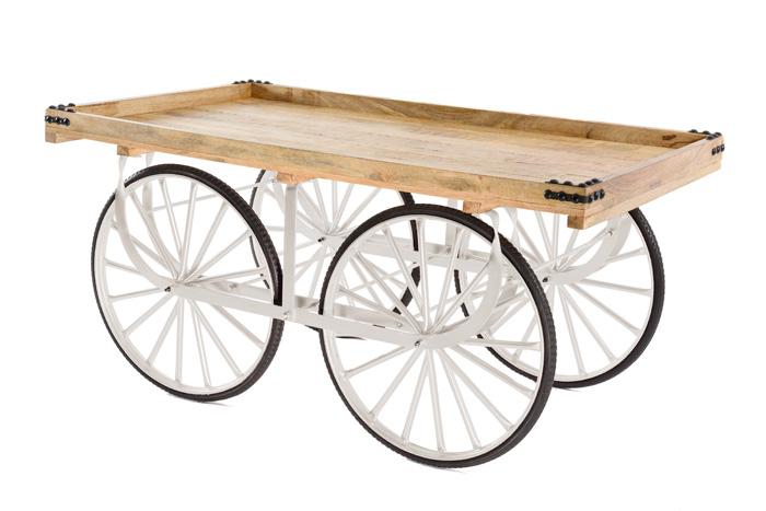 Marktwagen Classic Weiss