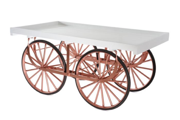 Marktwagen Empire Kupfer
