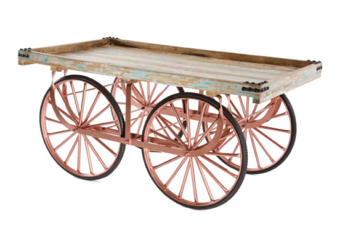 Marktwagen Vintage Kupfer