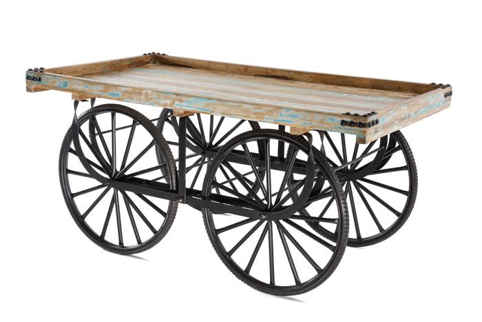 Marktwagen Vintage Schwarz